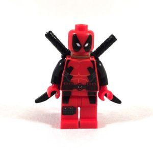 Deadpool Basic LEGO Minifig
