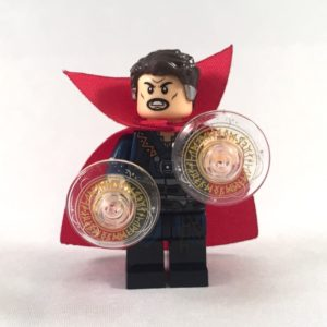 Dr Strange Movie LEGO Minifig with hand magic accessories