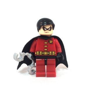 Robin LEGO Minifig Tim Drake - Face 1