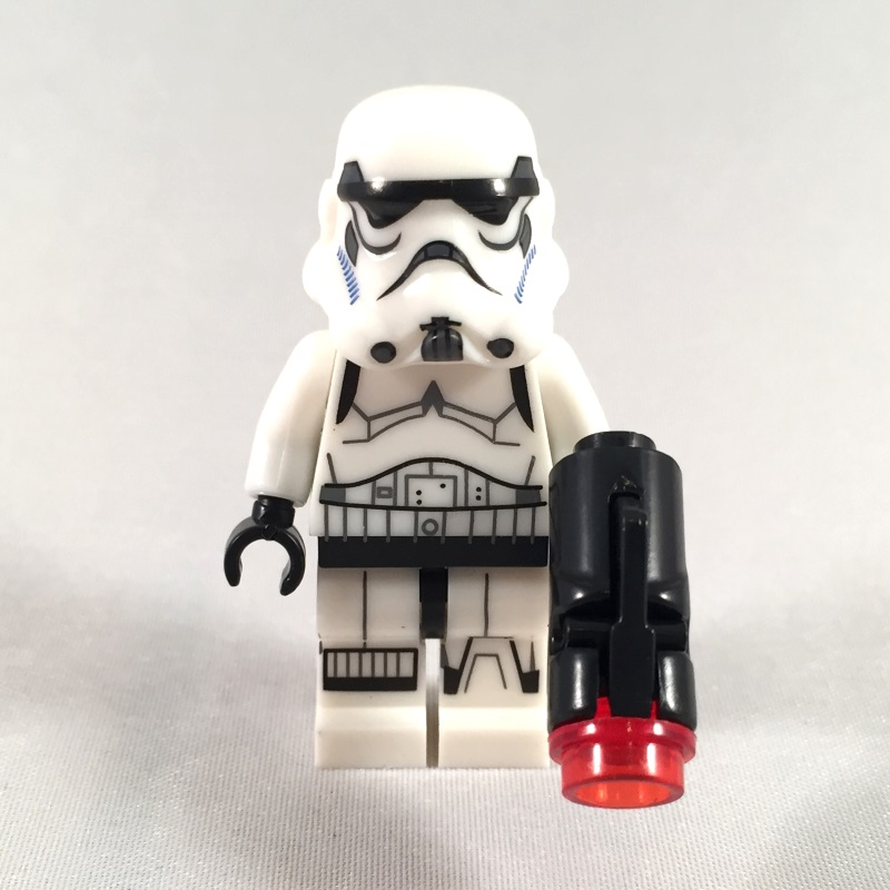 Stormtrooper LEGO Star Wars minifig - Front