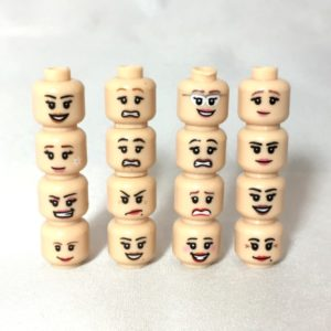 Accessories - LEGO Heads Female