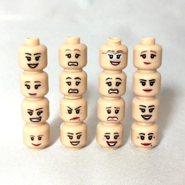 Accessories - LEGO Heads Female