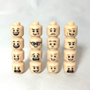 Accessories - LEGO Heads Male
