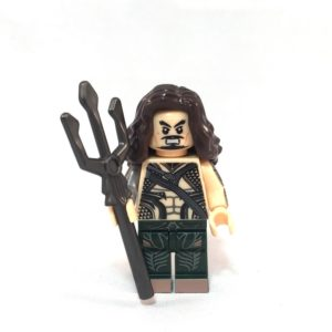 Aquaman LEGO Minifig Batman V Superman - Face 1