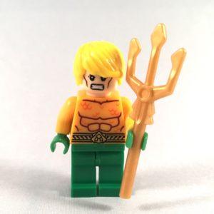 Aquaman LEGO Minifig - Front