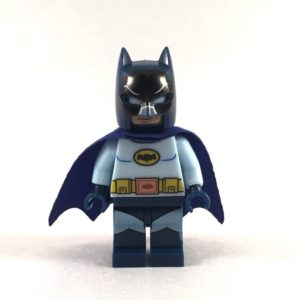 Batman LEGO Minifig 60s TV Show - Face 1