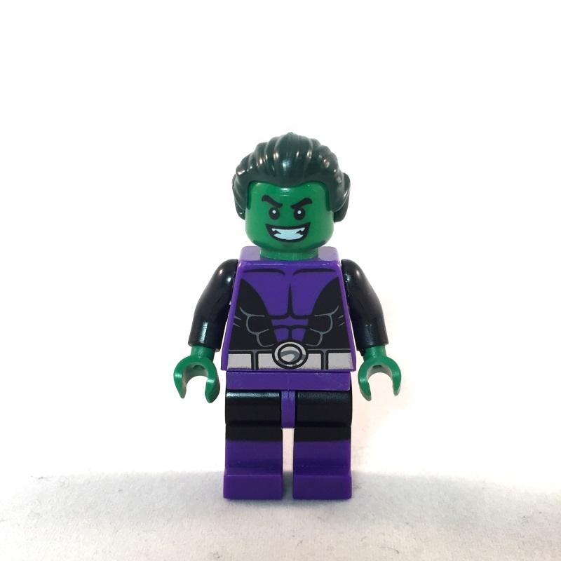Beast Boy LEGO Minifig - Face 1