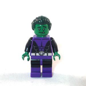 Beast Boy LEGO Minifig - Face 2
