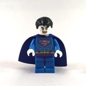 Bizarro Superman LEGO Minifig - Face 1