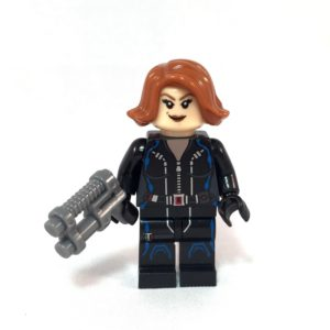 Black Widow LEGO Minifig Age of Ultron - Face 1