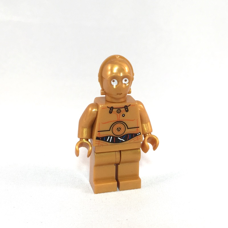 C-3PO LEGO Minifig - Front