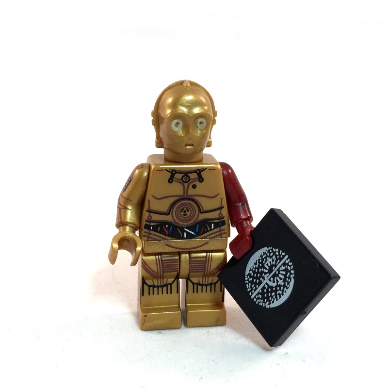 C-3PO LEGO Minifig Star Wars Force Awakens - Full