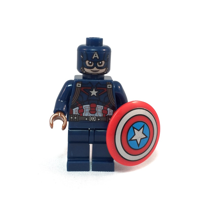 Captain America LEGO Minifig Age of Ultron - Front