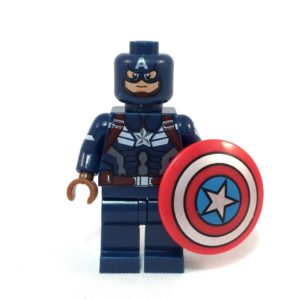 Captain America LEGO Minifig The Winter Solider - front