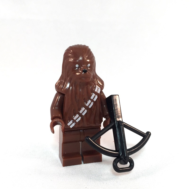Chewbacca LEGO Minifig - Front