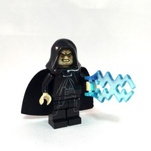 Darth Sidious LEGO Minifig - Full