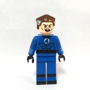 Fantastic Four Reed Richards Mr Frantastic LEGO Minifig - Front