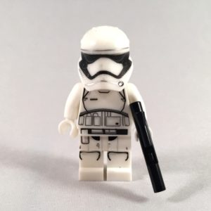 First Order Stormtrooper LEGO Star Wars minifig - front