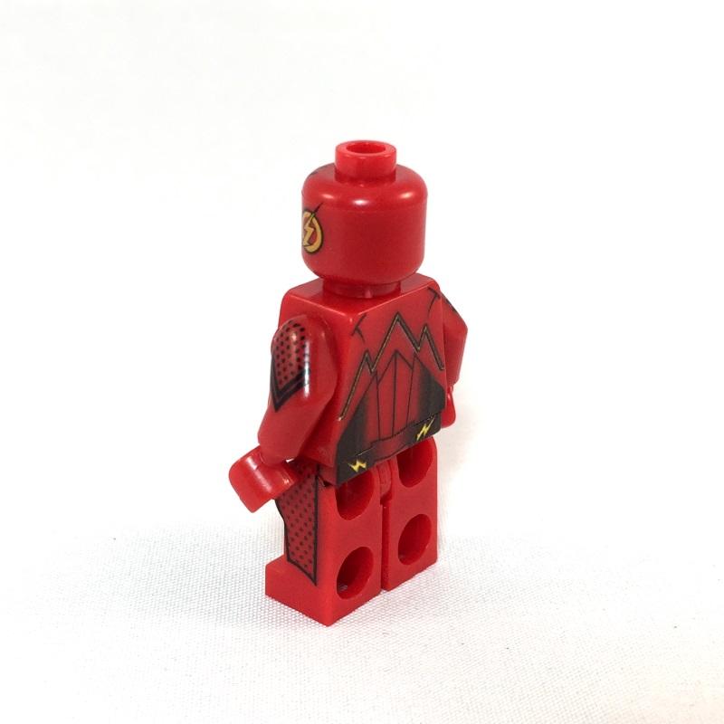 Flash LEGO Minifig TV show - side - Minifig Bin