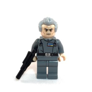 Grand Moff Tarkin LEGO Minfig Star Wars - Front