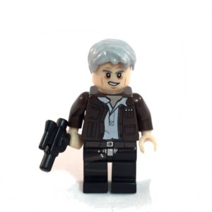 Han Solo LEGO Minfig Star Wars Force Awakens - Front