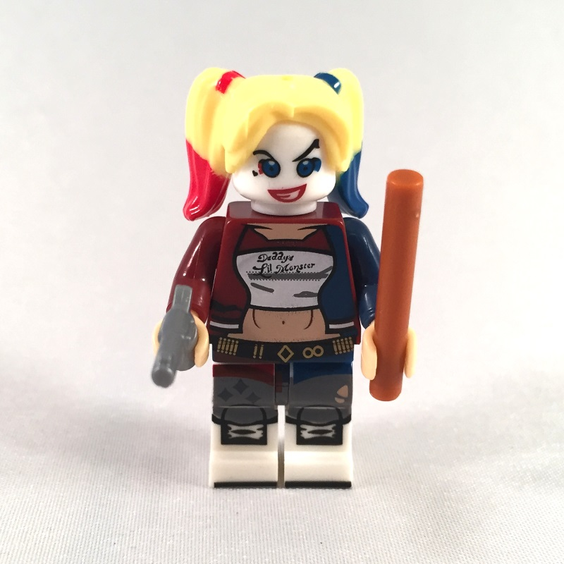 Harley Quinn Suicide Squad LEGO Minifig - Front