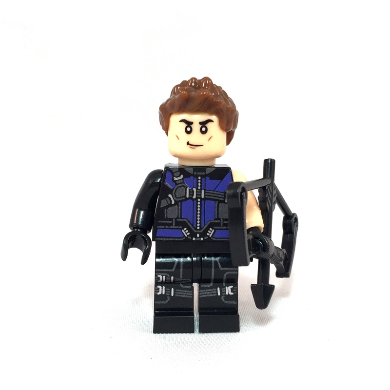 Hawkeye LEGO Minifig Civil War - Face 1