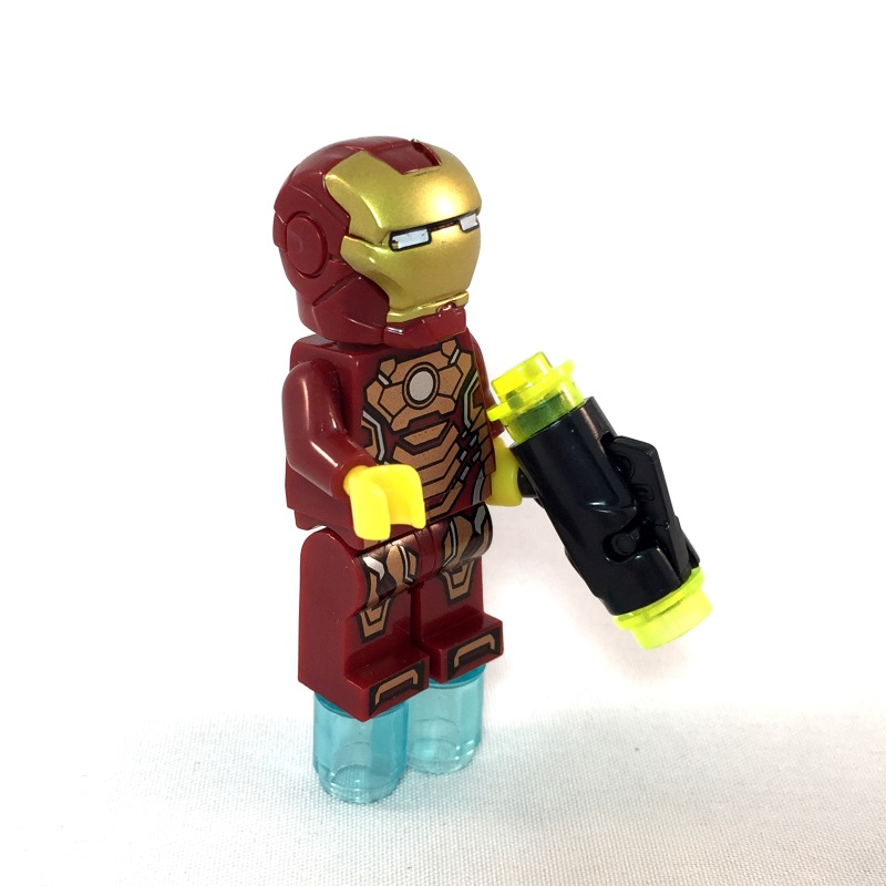 Iron man LEGO Minifig Mark 42 - Full