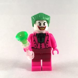 Joker LEGO Minifig 60s TV Show - Face 1