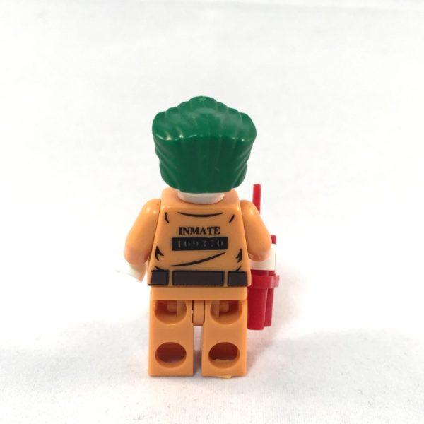 LEGO Batman Minifig - Joker Prison Outfit - Back