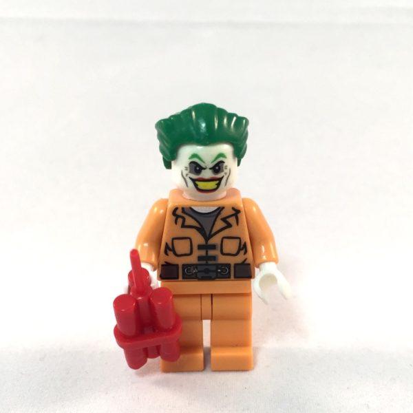 LEGO Batman Minifig - Joker Prison Outfit - Face 1