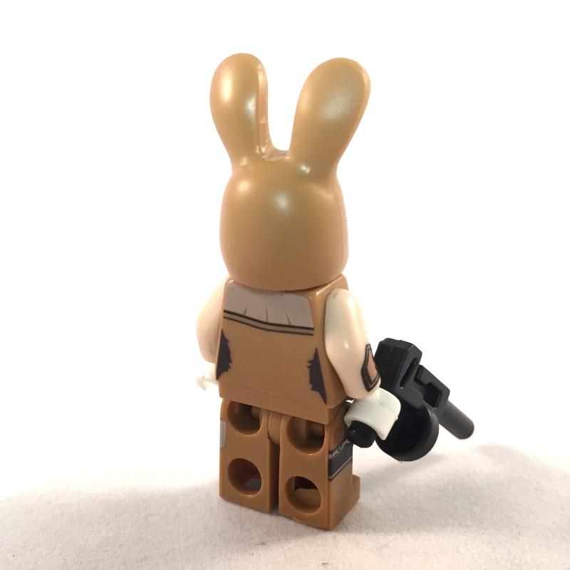 LEGO Batman Movie Minifig - Bunny Henchmen March Harriet - Back