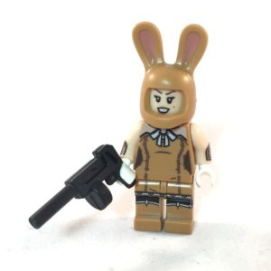 LEGO Batman Movie Minifig - Bunny Henchmen March Harriet - Front