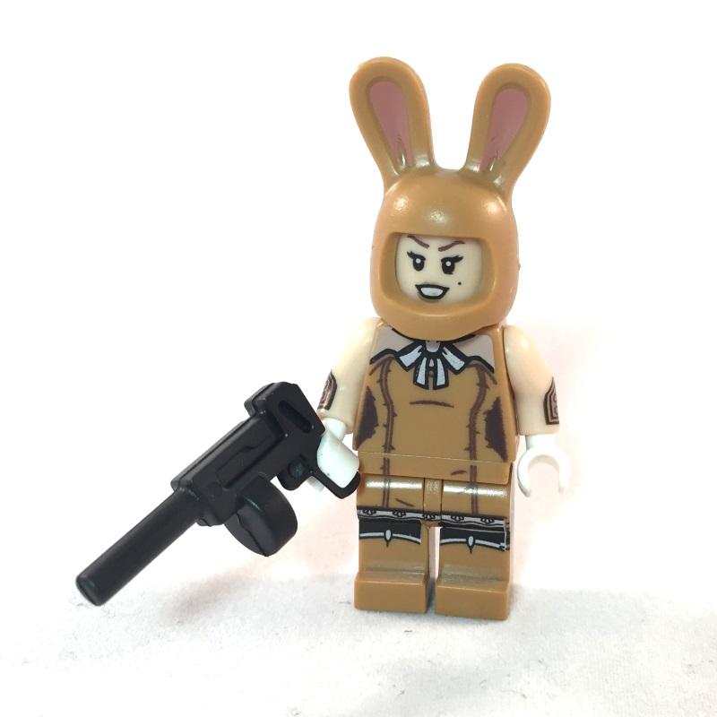 LEGO Batman Movie Minifig - Bunny Henchmen March Harriet - Front