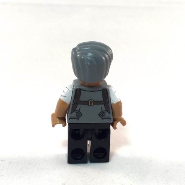 LEGO Batman Movie Minifig - Commissioner Gordon - Back