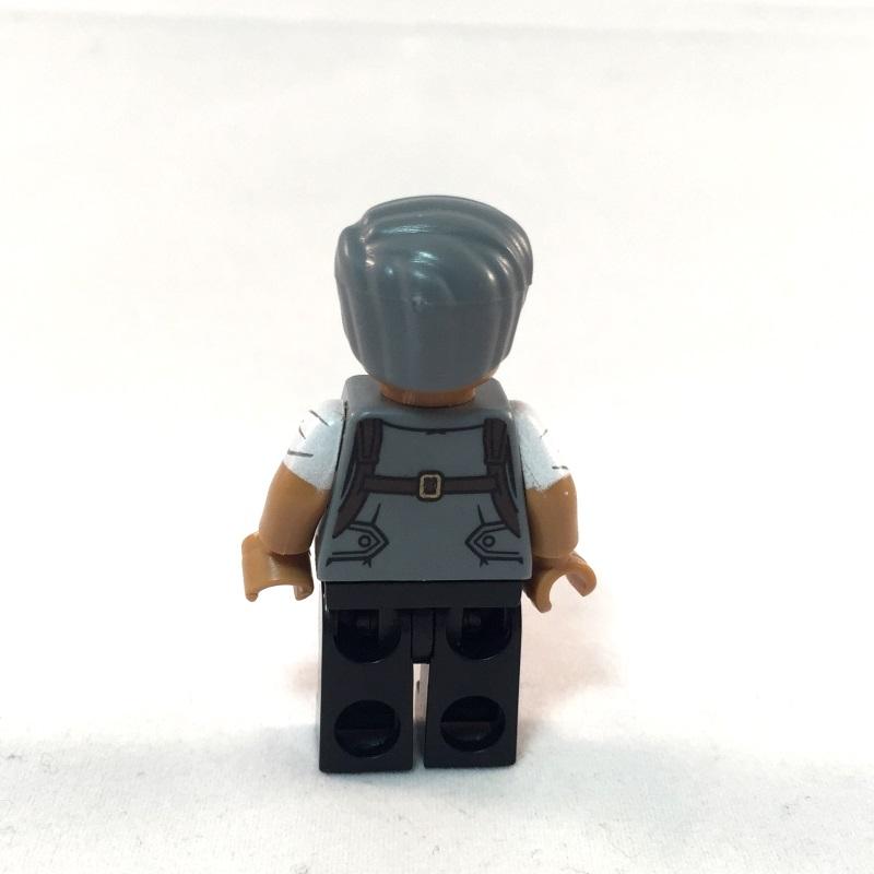 LEGO Batman Movie Minifig - Commissioner Gordon - Back