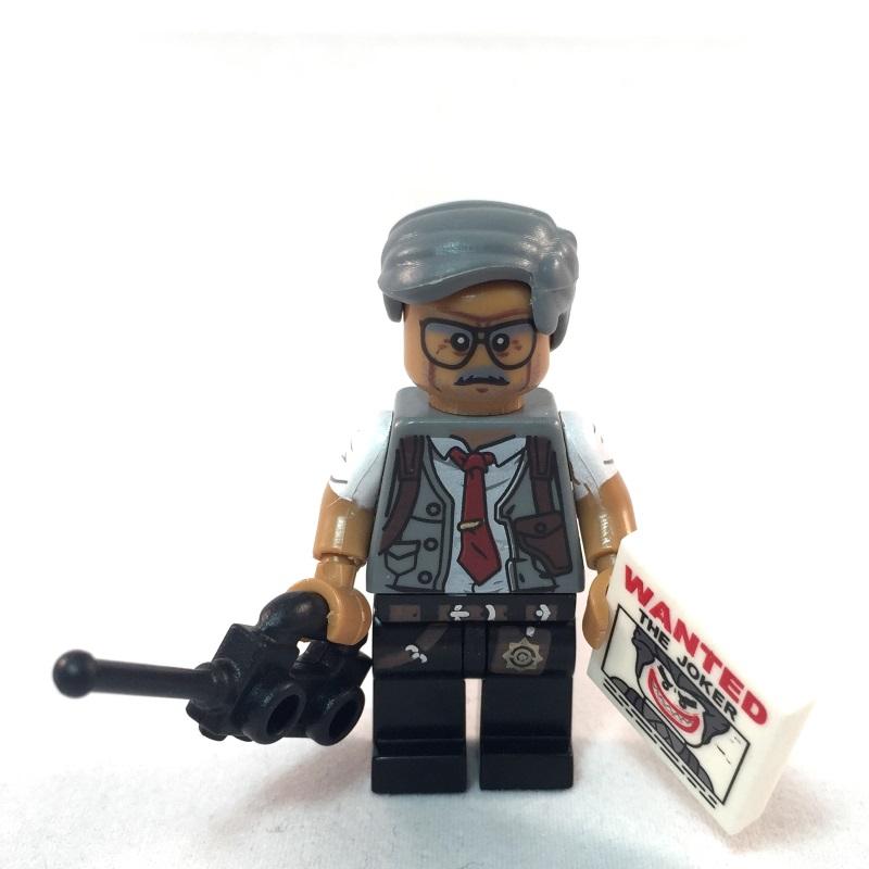 LEGO Batman Movie Minifig - Commissioner Gordon - Front