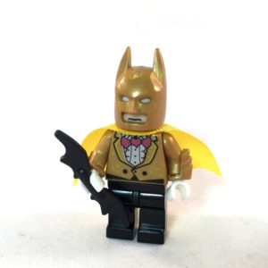 LEGO Batman Movie Minifig - Gold Batman - The Bat Pack