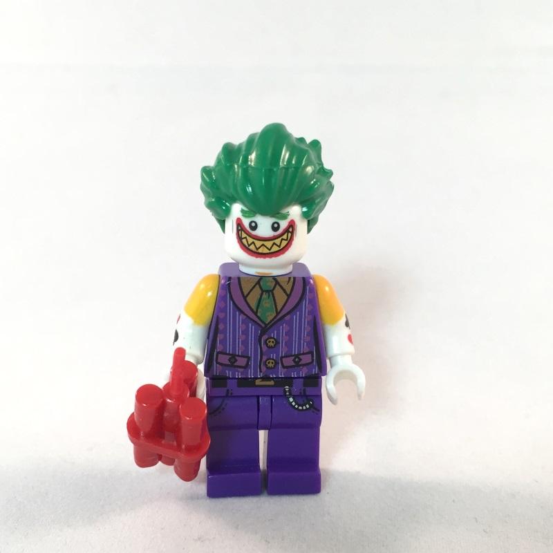 LEGO Batman Movie Minifig - Joker - Face 1