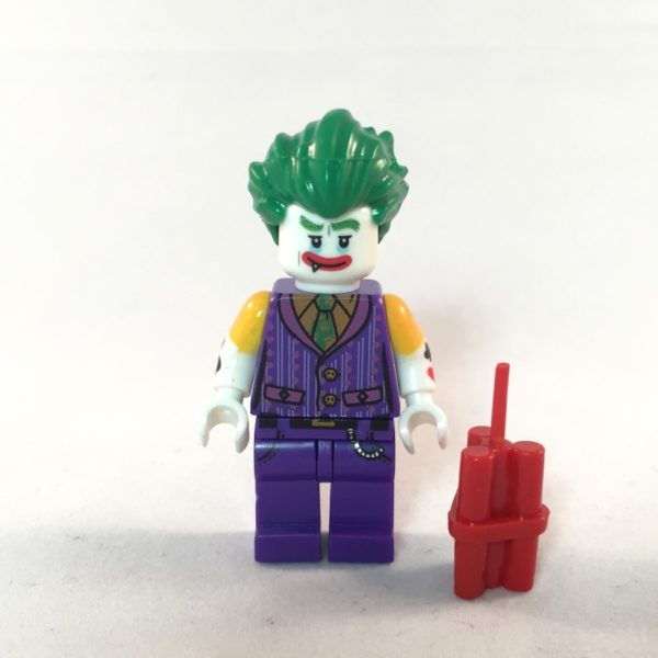 LEGO Batman Movie Minifig - Joker - Face 2