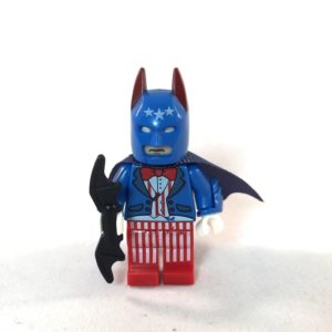 LEGO Batman Movie Minifig - The Batriot - Front