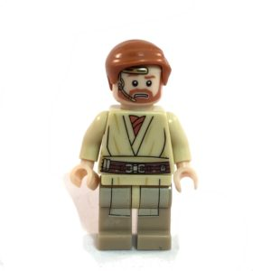 Obi-Wan Kenobi Lego Minifig Star Wars Episode III Pilot - Front