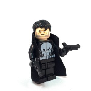 Punisher LEGO Minifig - Face 2