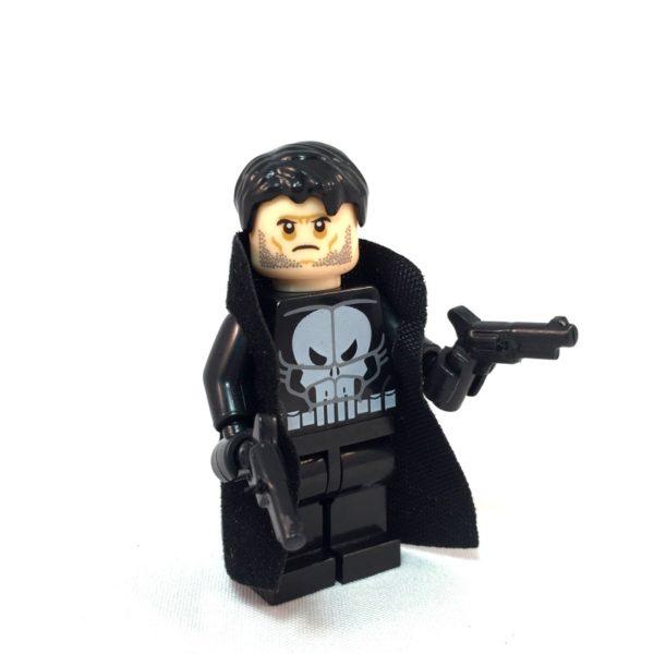 Punisher LEGO Minifig - Face 2