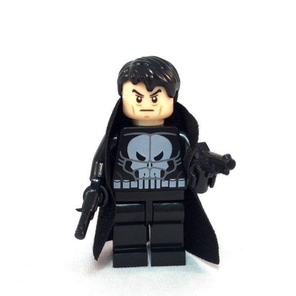 Punisher LEGO Minifig - Front