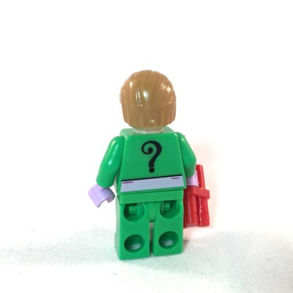 Riddler LEGO Minifig 60s Batman - Back