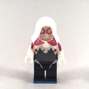 Spider-Gwen LEGO Minifigure - front