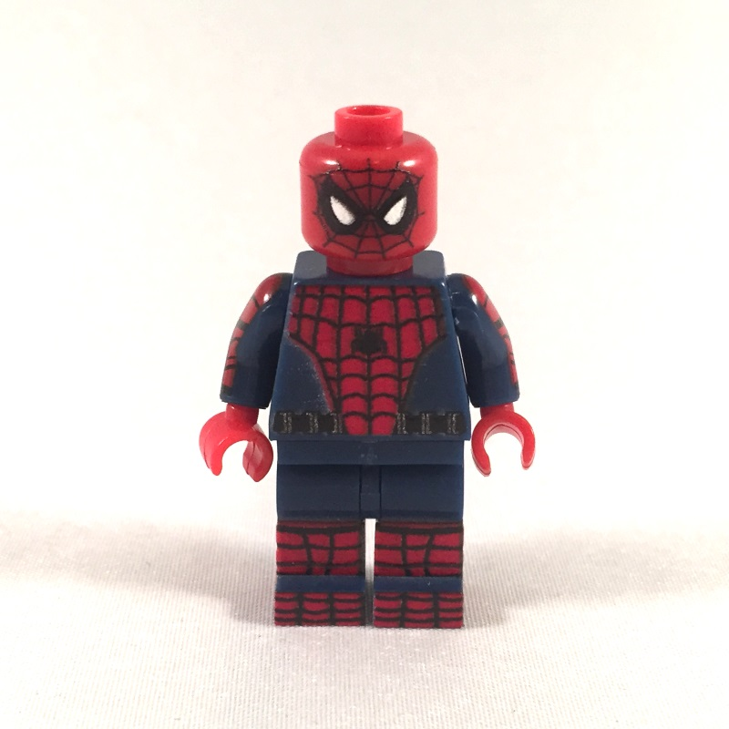 Spiderman 2017 Movie LEGO Minifig - Front