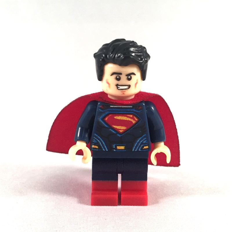 Superman LEGO Minifig Batman V Superman movie - Face 1