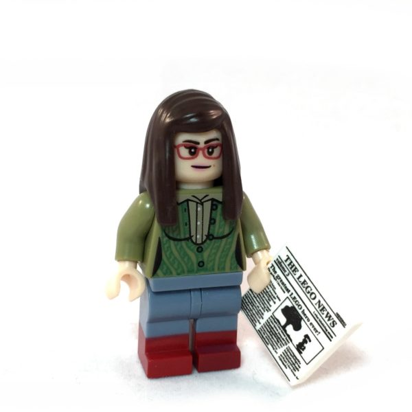 The Big Bang Theory LEGO Minifig Set - Amy Face 1